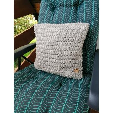 Poszewka na poduszkę ze sznurka bawełnianego