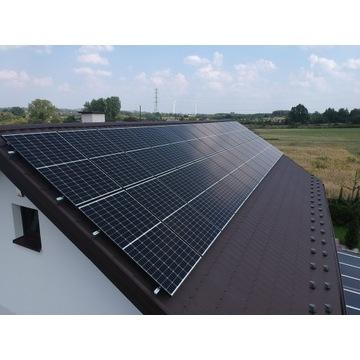 FOTOWOLTAIKA panele słoneczne 9kWp ZIELONA ENERGIA