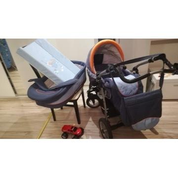 Jedo line Fyn Alu - wielofunkcyjny wózek dziecięcy