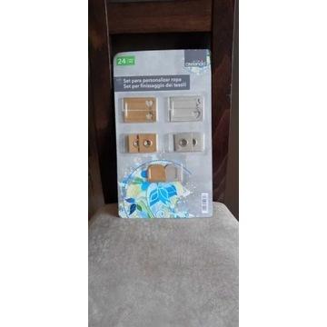 24-częściowy zestaw do personalizacji toreb