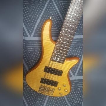 Gitara basowa bas Schecter Stiletto Custom 6