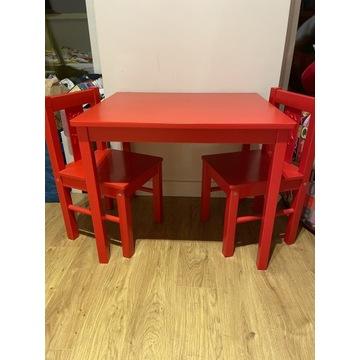 Stolik i dwa krzesełka IKEA