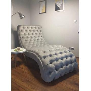 Fotel pikowany typu SZEZLONG, duży i wygodny !!!!