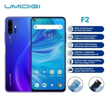 UDIMIGI F2, aparat 48MP, selfie 32MP, 6GB RAM, 128