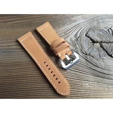 Pasek do zegarka Panerai handmade skórzany 26 mm