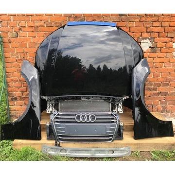 Audi a4 b9 pas chłodnica maska błotniki grill