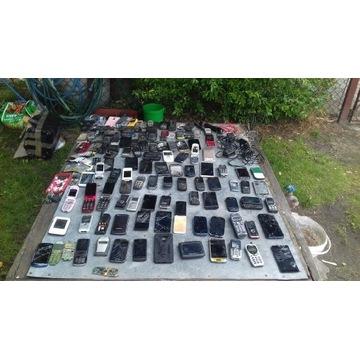 Zestaw telefonów i elektroniki BCM