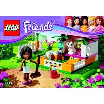 LEGO Friends Domek dla królika 3938 +DUZO BONOSÓW