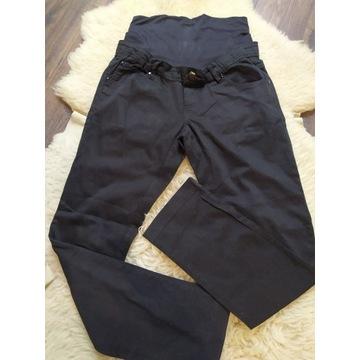 Spodnie ciążowe czarne S Mamalicious proste