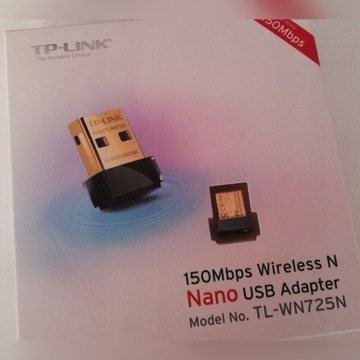 Karta sieciowa WiFi Nano USB 150Mbps TP-LINK !!!!!