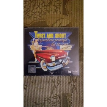 "płyta CD ""Twist and Shout"" 5xCD"