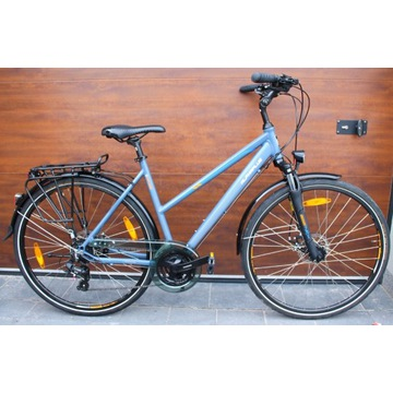 Rower aluminiowy ALPHAPLUS damski miejski