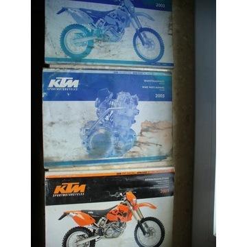 Naprawa ,srwisowka ,katalog KTM 250/ 450/525 EXC