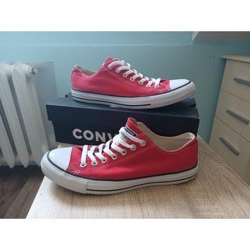 Converse czerwony 44 10 Unisex