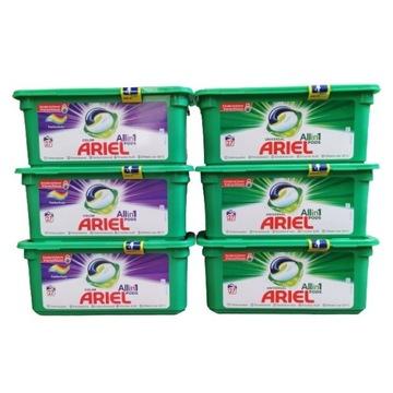 Ariel pods kolor uniwersalne zestaw 81+81 sztuk DE