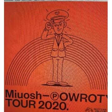 2 bilety na koncert Miuosha 26 września Katowice