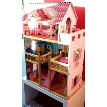 Drewniany domek dla Lalek 90 cm