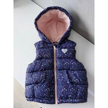 Kamizelka bezrękawnik kurtka dla dziewczynki Zara