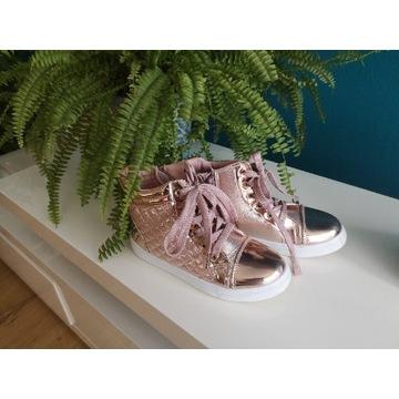 Buty róż disco r 33 trampki