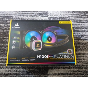 Corsair Hydro Series H100i Platinum RGB 2x120mm