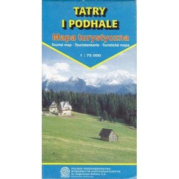 PPWK Tatry i Podhale mapa turystyczna 1:75000