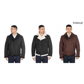Kożuch męski ekologiczny KEVIN KRISKÓR L/XL/XXL
