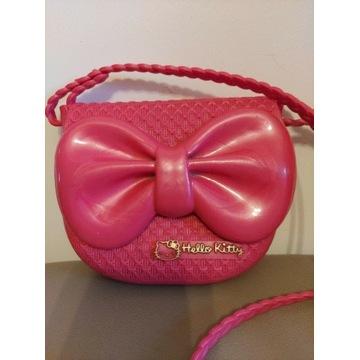 Hello Kitty silikonowa torebka dla dziewczynki