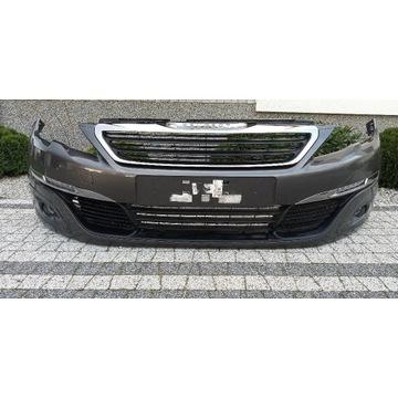 Zderzak Peugeot 308 t9 13-17 LED halogen bez pdc