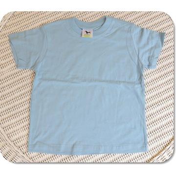 Koszulka ADLER Classic błękitny 134cm/8 lat NOWA