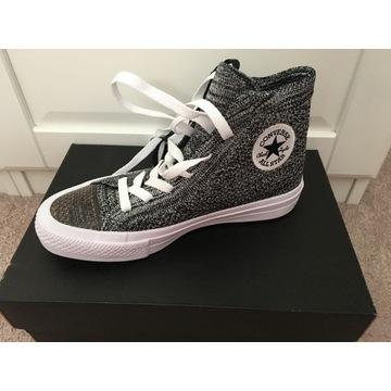 Buty Converse wysokie nowe