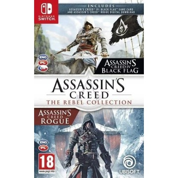 ASSASSINS CREED THE REBEL COLLECTION PL SWITCH
