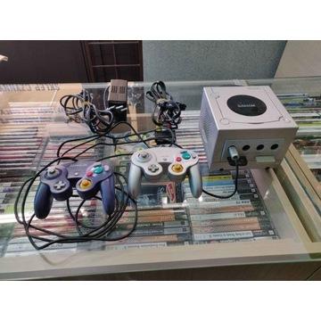 Konsola Nintendo gamecube + 2 pady