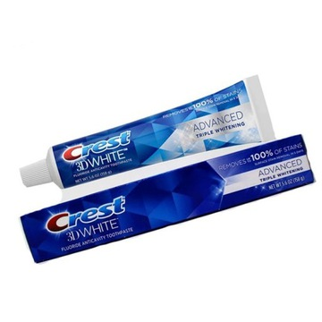 Crest 3D White Advanced Triple Whitening 158g USA