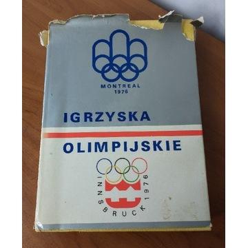 IGRZYSKA OLIMPIJSKIE MONTREAL 1976 książka album