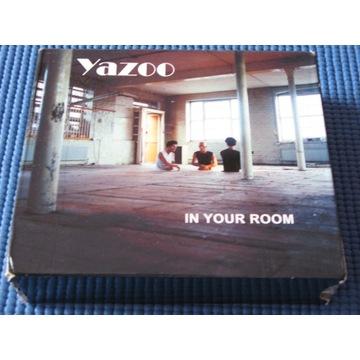 YAZOO IN YOUR ROOM 3CD+DVD BOX Rarytas