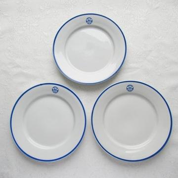3 talerze Społem, nowe, nieużywane