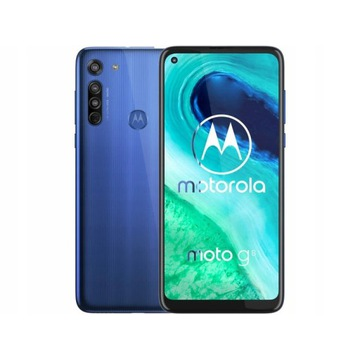 Smartfon MOTOROLA Moto G8 Neon Blue 4/64GB
