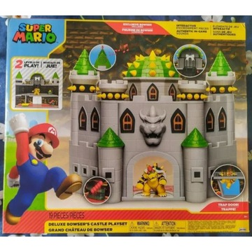 Super Mario, zestaw z figurkami Zamek Bowser'a