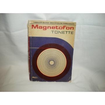 Instrukcja obsługi magnetofonu TONETTE
