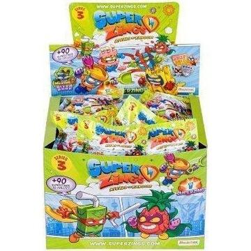 Super Zings BOX 50 FIGUREK Seria 3