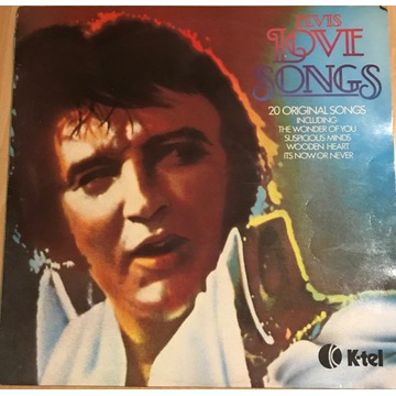 Płyta Winylowa Elvis Love Songs