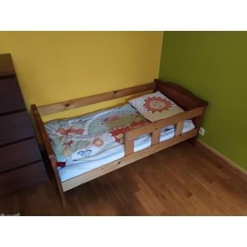 Łóżko dziecięce wraz z materacem 70 x 140