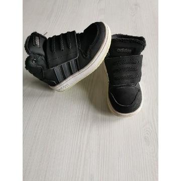 Adidas ocieplane futerkiem 24