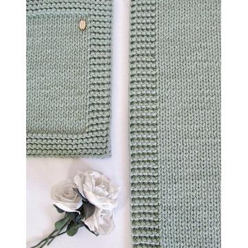 Bieżnik ramkowy 40/100cm ze sznurka bawełnianego