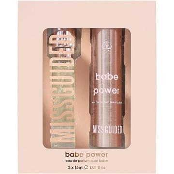 Missguided Babe Power Mini Spray Set 2x15ml UK