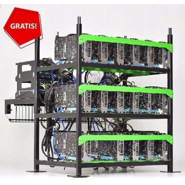 Koparka Kryptowalut -4x RX 6800 XT BTC RVN +GRATIS