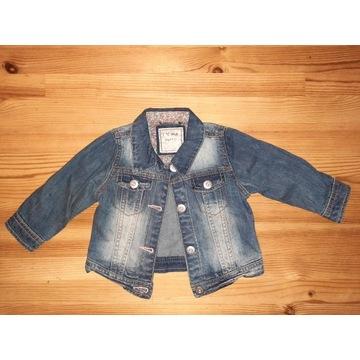 Katana katanka kurtka jeans dżins Next 9-12 m