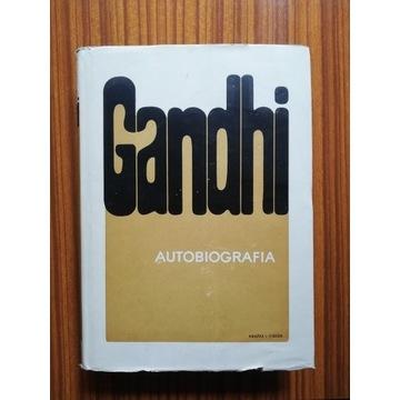 """Książka """"Gandhi. Autobiografia"""" stan IDEALNY 1969"""