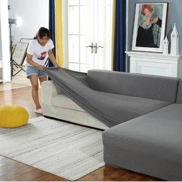Modna Pluszowa Narzutka na sofę - wiele rozmiarów