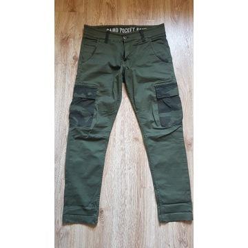 Spodnie Alpha Industrial Camo Pocket Pant M/L Slim